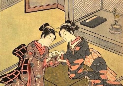 Suzuki Harunobu. 1765