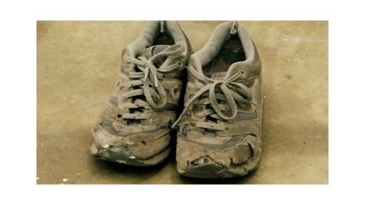 utslitte-sko