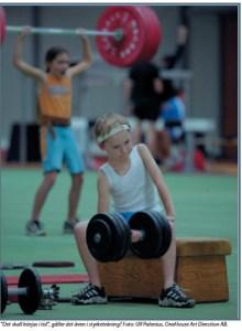 Styrketräning för barn – bu eller bä?