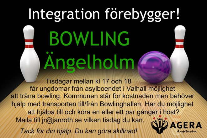 Annons bowling Agera