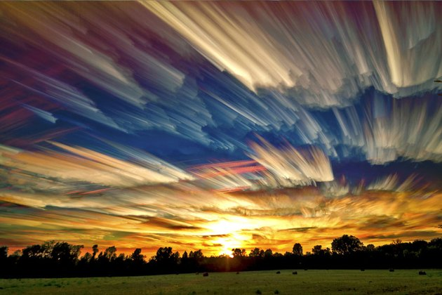 Stunning Smeared Sky Photography by Matt Molloy