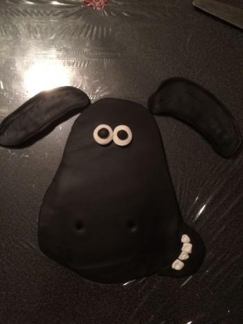 fåret shaun tårta
