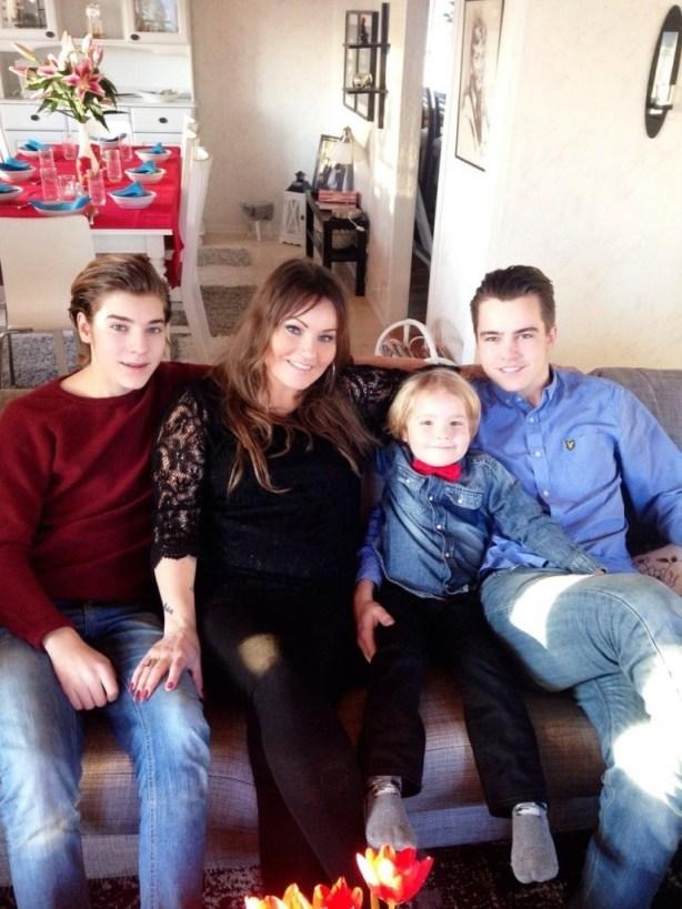 jul barnen och jag