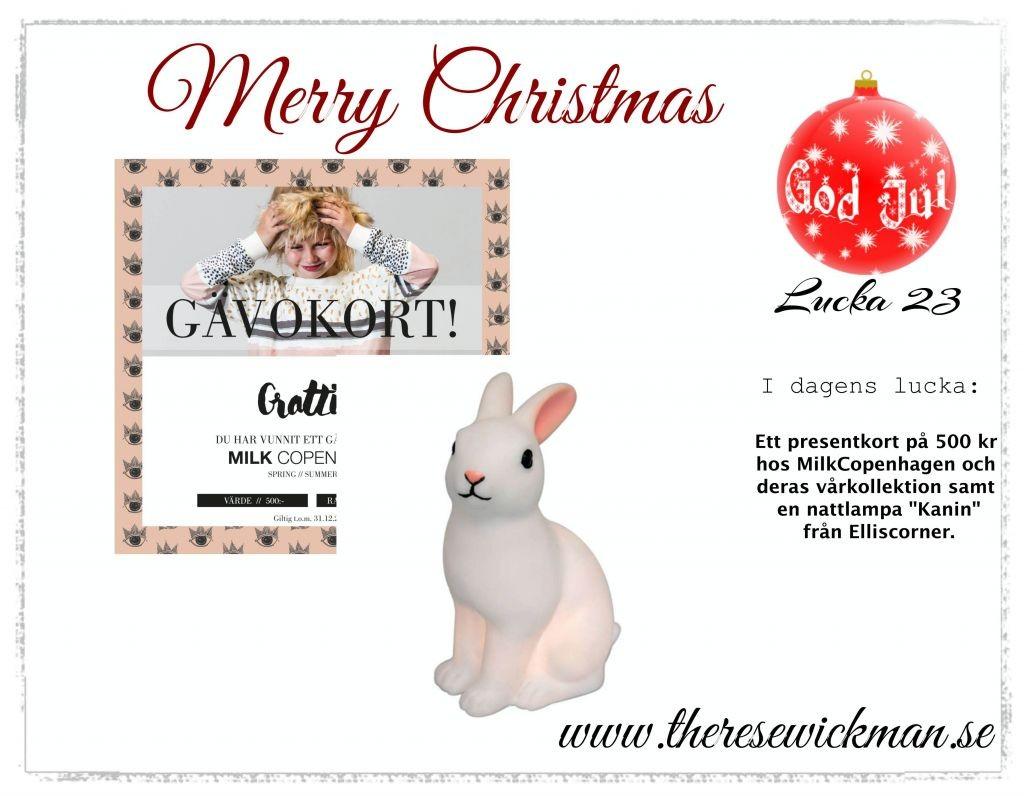 Julkalendern lucka 23