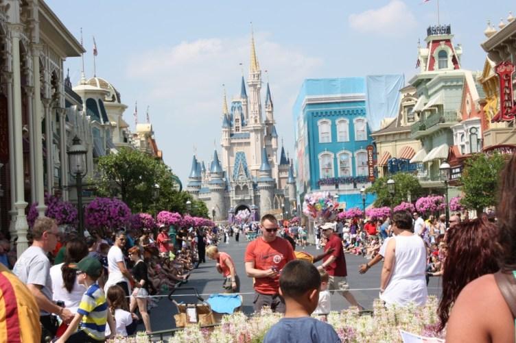 Main Street USA på Magic Kingdom