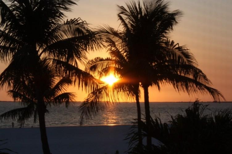 Solnedgång Fort Myers Beach