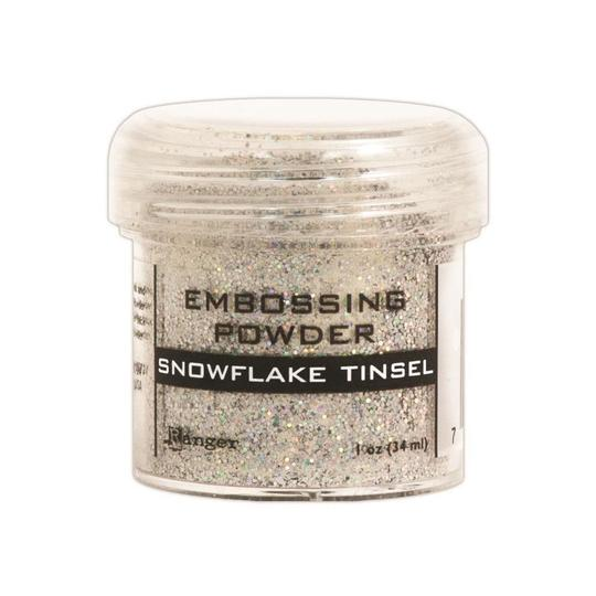 Ranger - Embossing Powder - Snowflake Tinsel