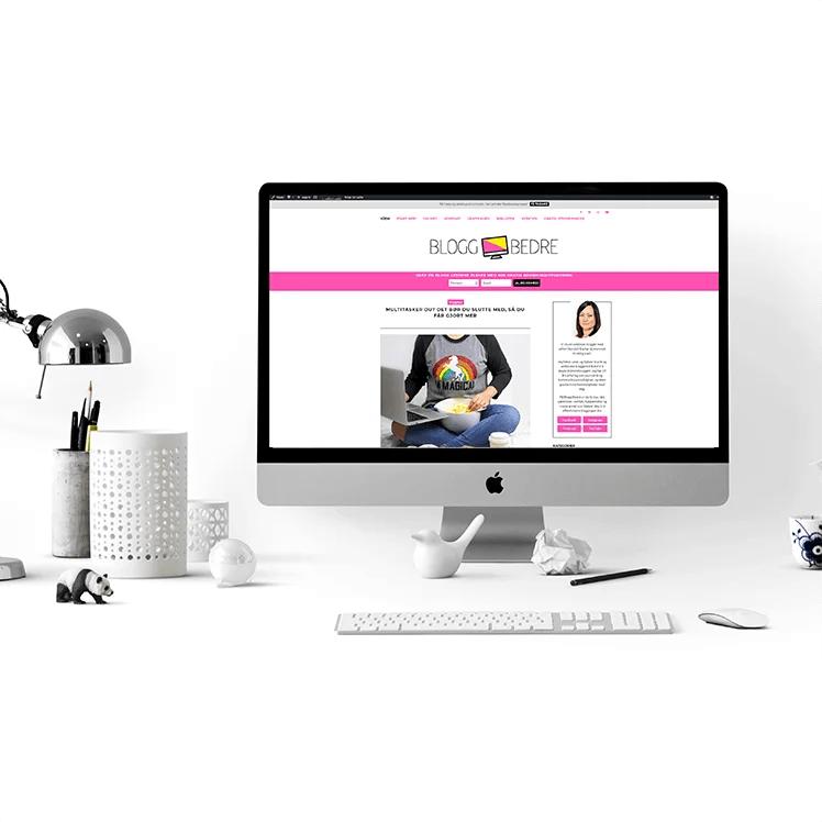 Har du tenkt over at designet på bloggen din er en del av brandingen? Her er 25 designtips som vil gjøre bloggen din bedre!