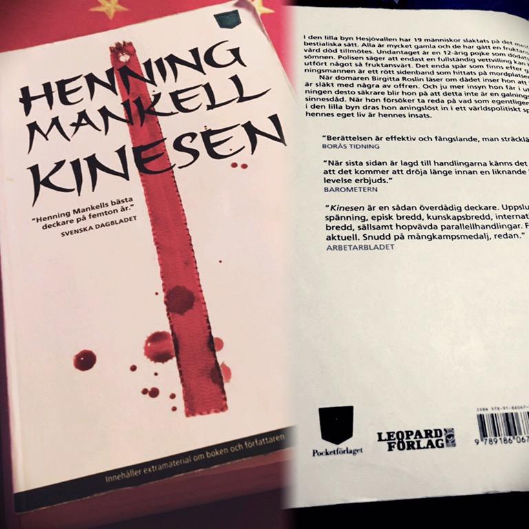 Kinesen – Henning Mankell