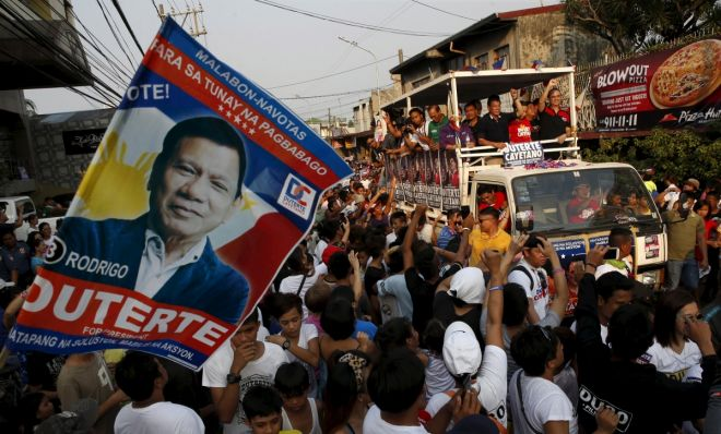 imgphilippines-election-duterte-keeps-clear-lead-over-grace-poe-heated-four-way-race