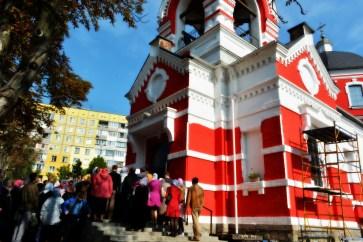 Крестовоздвиженский храм Днепропетровск