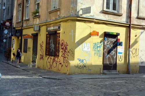 Львов, графитти5