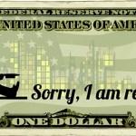 Usa Dollar Object Work