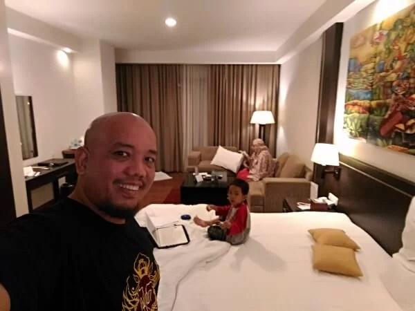 Blogger Borneo Family Activity