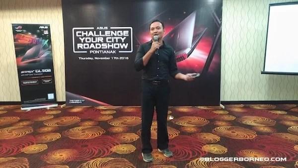 Presentasi ZenFone 3 Max ASUS Challenge Your City Pontianak