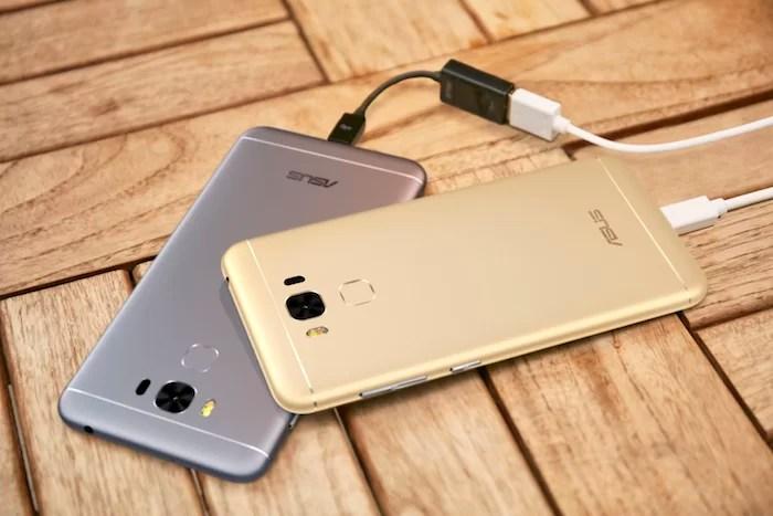 ZenFone 3 Max ZC553KL Fungsi PowerBank
