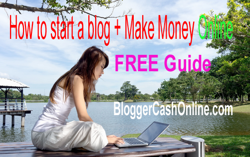 How to start blog and make money online-image -1