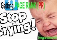 reason why not increasing page rank