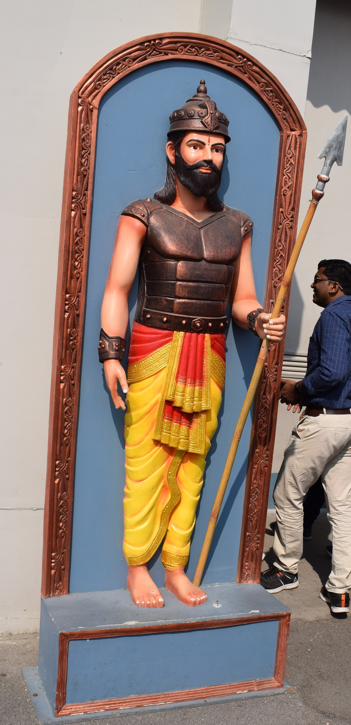 Mahabharat set in Ramoji film city 5 Ramoji film City Guide,6 Sets photos of Beautiful places.