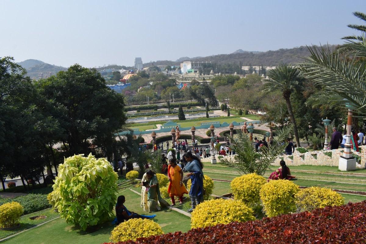 Ramoji filmcity surrounding nature, gardening, trees, beautiful