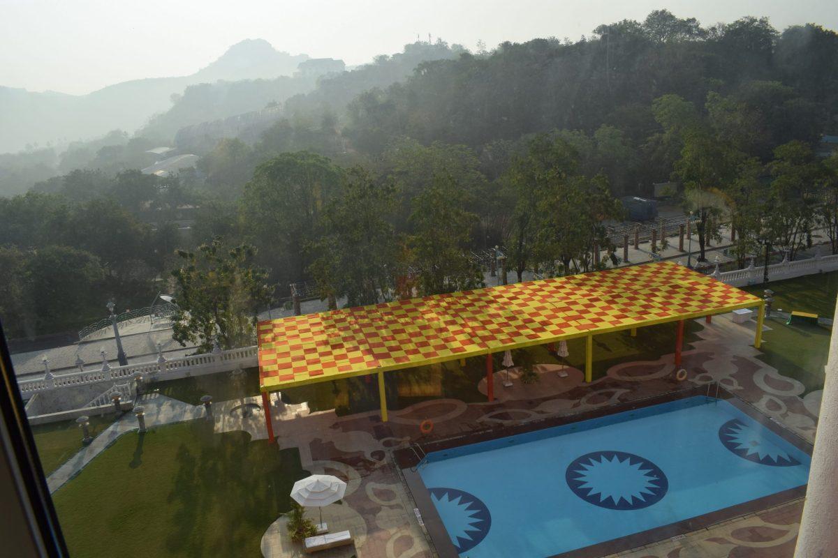 hotel sitara swimming tank