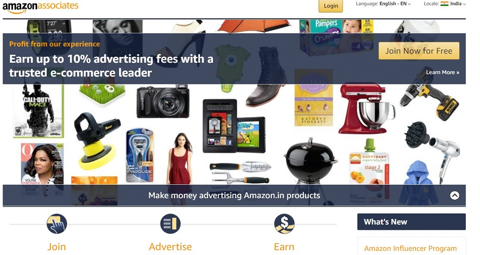 Amazon affiliates best program to make money on your blog online