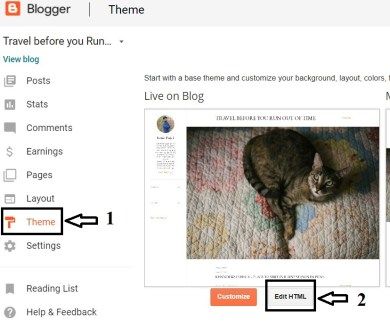 how to change date of blogger post permalink? URL