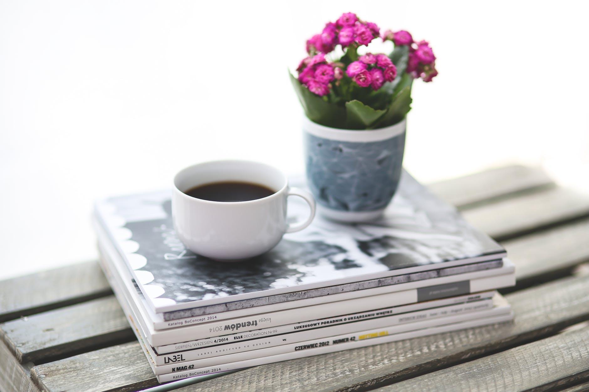 coffee cup stack break Ikebana Art of flower arrangement, Rules, Lines & Styles.