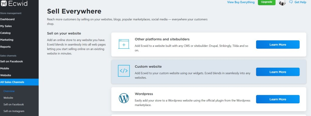Convert blogger blog into online Ecommerce store free