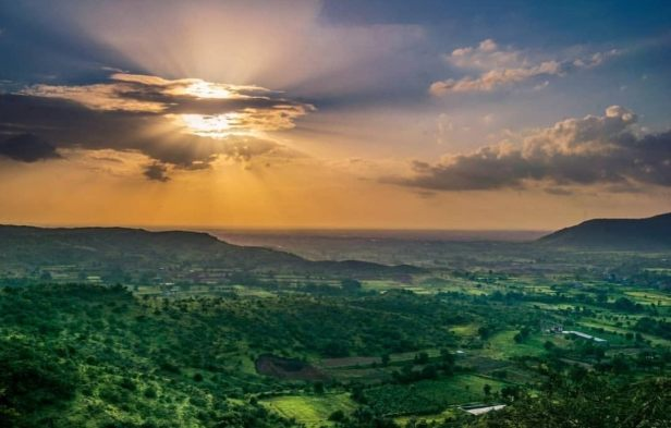Dandoba hill Sunset photos