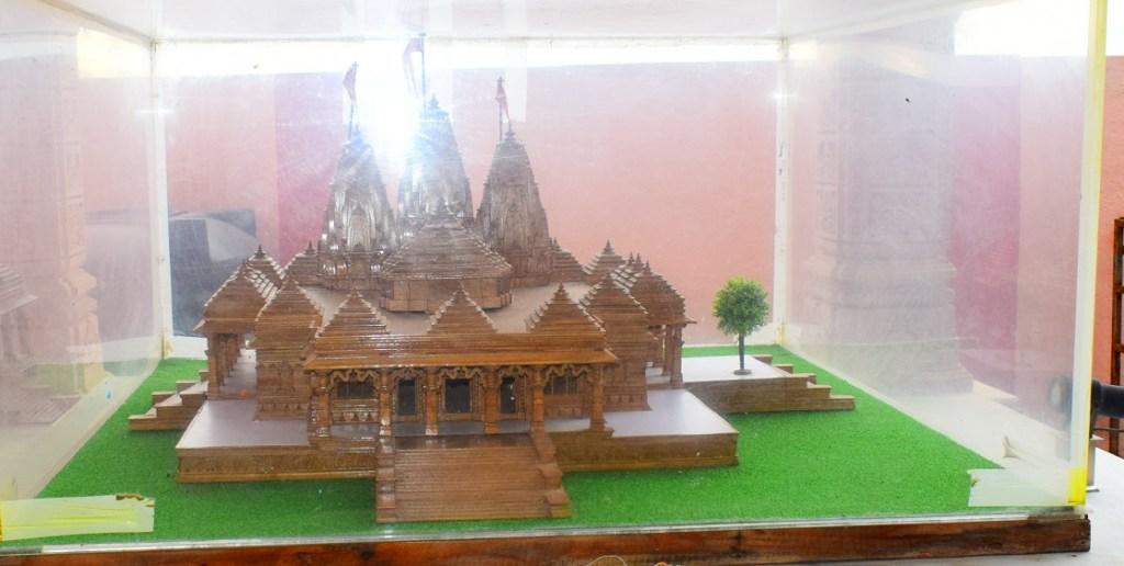 New Bhandara temple prototype - Dehu, Pune.
