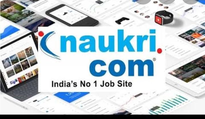 Naukri.com indias best job site with 100% results