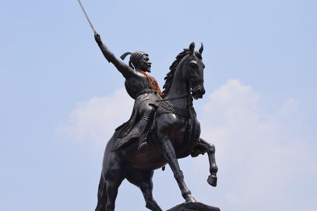 Shivaji Maharaj Statue on Pratapgad