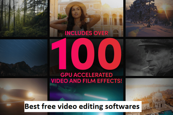 3 Best free vlog editing softwares for YouTube Videos.