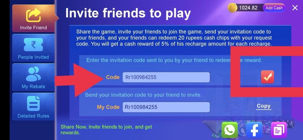 IMG 20210904 132235 RummyParty - Best Andar Bahar, Teen Patti & Rummy Real money Game.