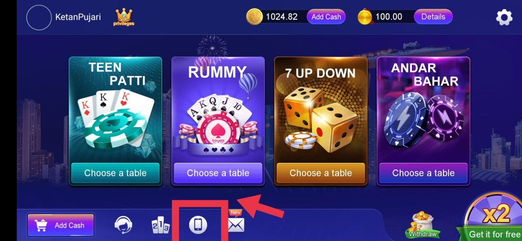 IMG 20210904 132338 RummyParty - Best Andar Bahar, Teen Patti & Rummy Real money Game.