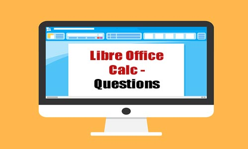 Libre office Calc STQ