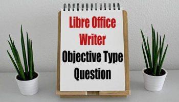 LibreOffice Writer -MCQ