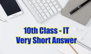 10th class very short answer