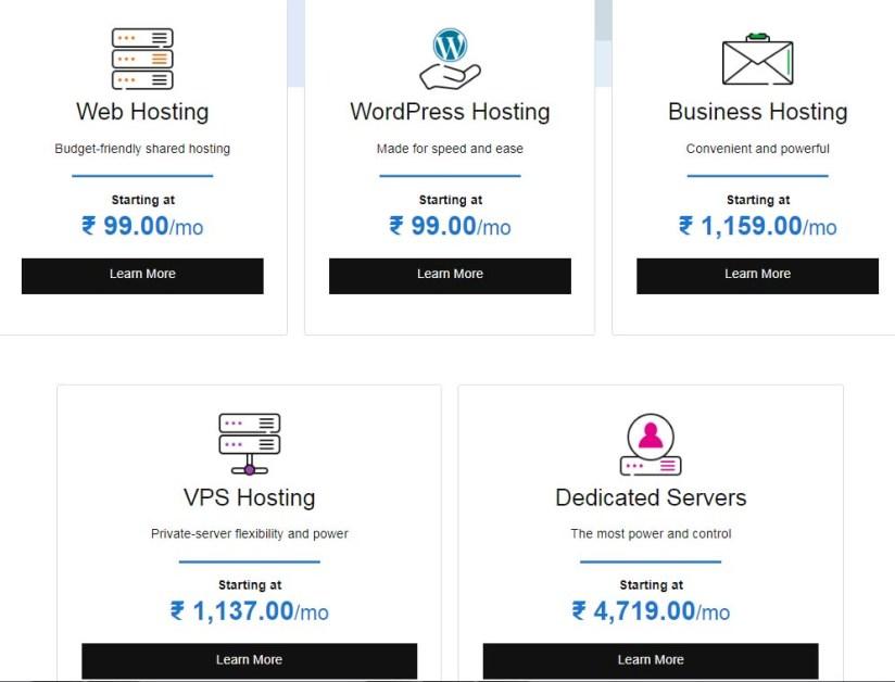 Godaddy Web hosting Plans