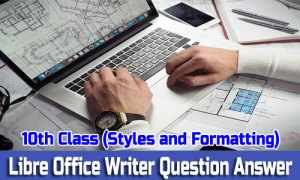 10th Class Styles and Formatting