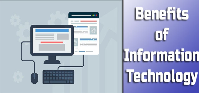 Benefits of Information Technology in Hindi