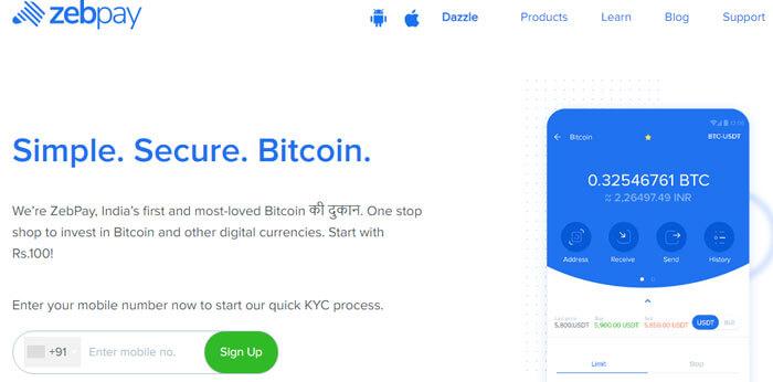 Bitcoin Zebpay