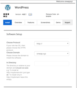 cara install wodpress self hosted 3