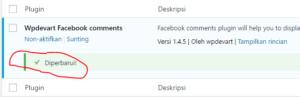 cara memperbarui plugin wodpress self hosted 3