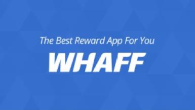 aplikasi android penghasil uang dan pulsa whaff rewards