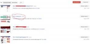 Fungsi dan Cara Submit Sitemap Blogspot dan WordPress ke Google Webmaster Tools