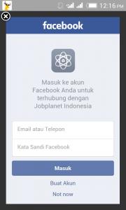 Cara Daftar Jobplanet Indonesia Android Apk 1