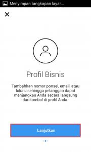 cara mengganti profil bisnis di instagram 2