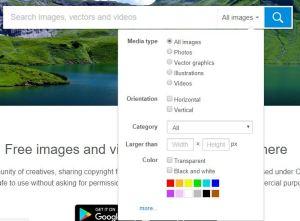 cara mencari bahan gambar untuk mentahan picsay pro keren dan berkualitas 1